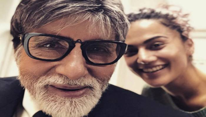 Taapsee Pannu And Big B's First Picture From The Sets Of Badla!