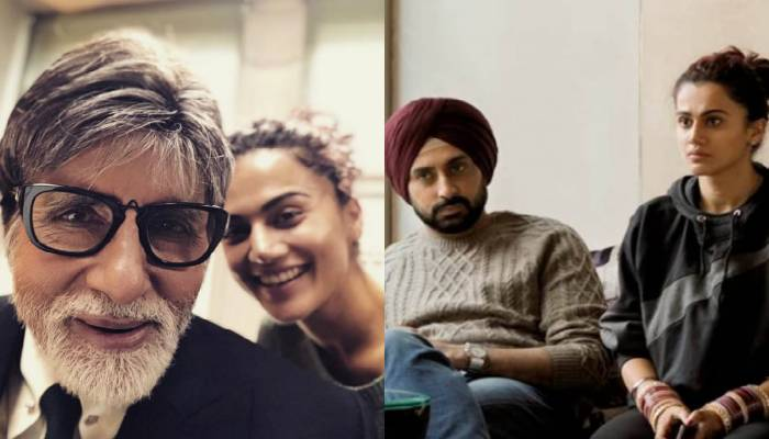 Taapsee Pannu On Working With Both Senior And Junior Bachchan!