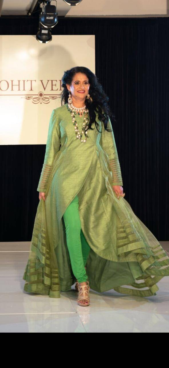Designer Rohit Verma Who Has Always Surprised People With His Creative Unique Collections Wrapped Up The La India Fashion Week