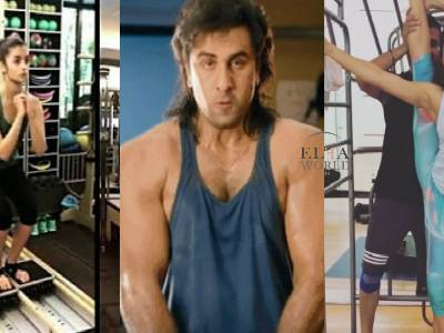 Bollywood Actors Who Have Been Bitten By The Gymnastics Bug!