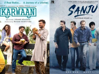 Karwaan Trailer To Be Attached To Sanju!