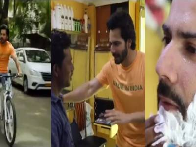 Varun Goes To The Local Nai To Get Into Sui Dhaaga Look!
