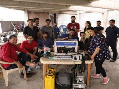 It's A Wrap Up For Abhishek Saxena's Rom-Com Film Saroj Ka Rishta Starring Sanah Kapur,Gaurav, Randeep Rai And Kumud Mishra In The Lead!