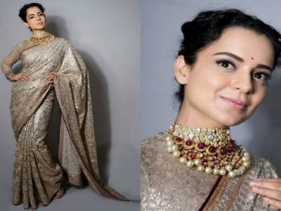 Manikarnika Song Launch: Kangana Ranaut Is Royalty Personified In Her Traditional Attire At The Event!