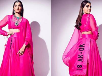 OMG! Did Sonam Kapoor's Anamika Khanna Attire Just Got Embroiled Itself In A Plagiarism Controversy?