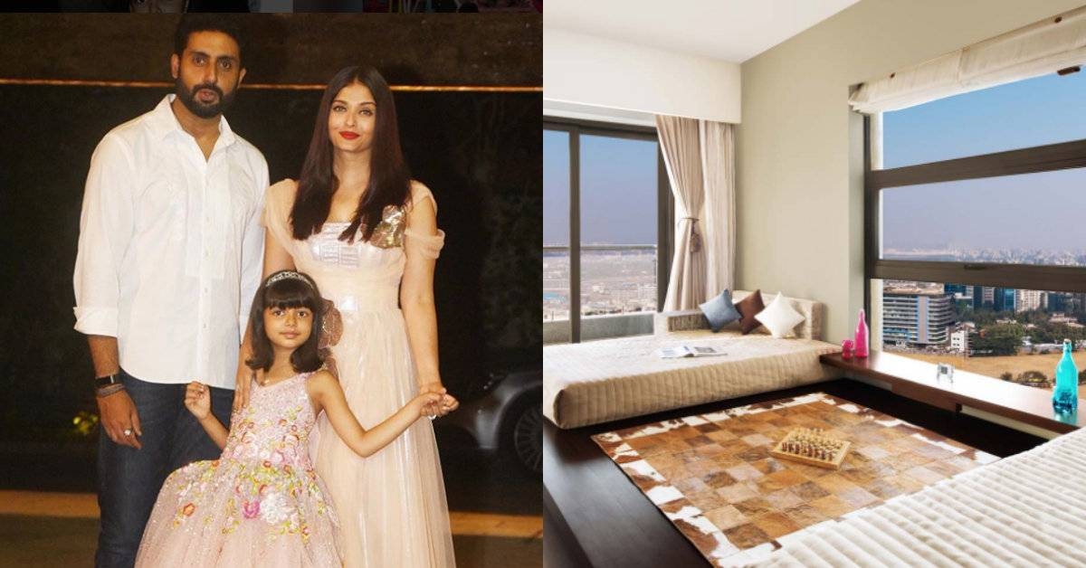 Inside Aishwarya Rai Bachchan And Abhishek Bachchan's New Apartment In Mumbai!