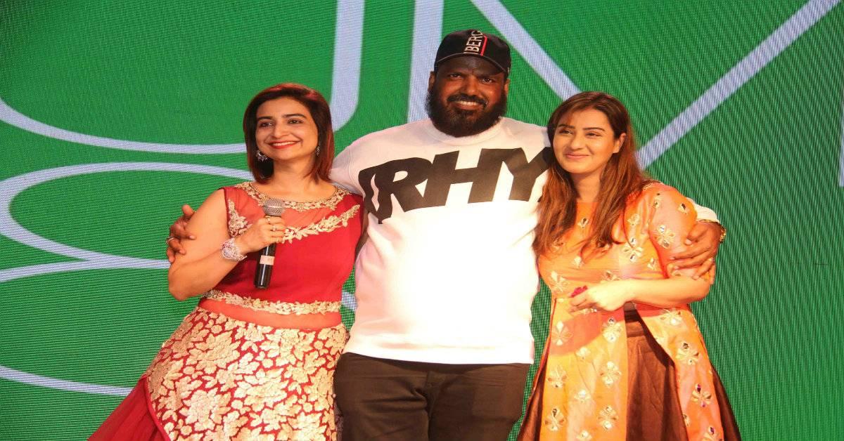 Rashmi Sharma Announces Her Ne...