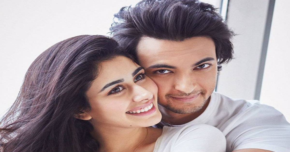 Garba Lessons Galore For Loveratri Duo Aayush Sharma And Warina Hussain!