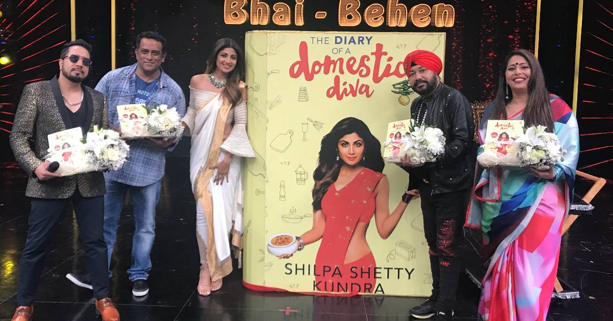 Shilpa Shetty Kundra Launched The Diary Of A Domestic Diva On Her Hit Show Super Dancer!