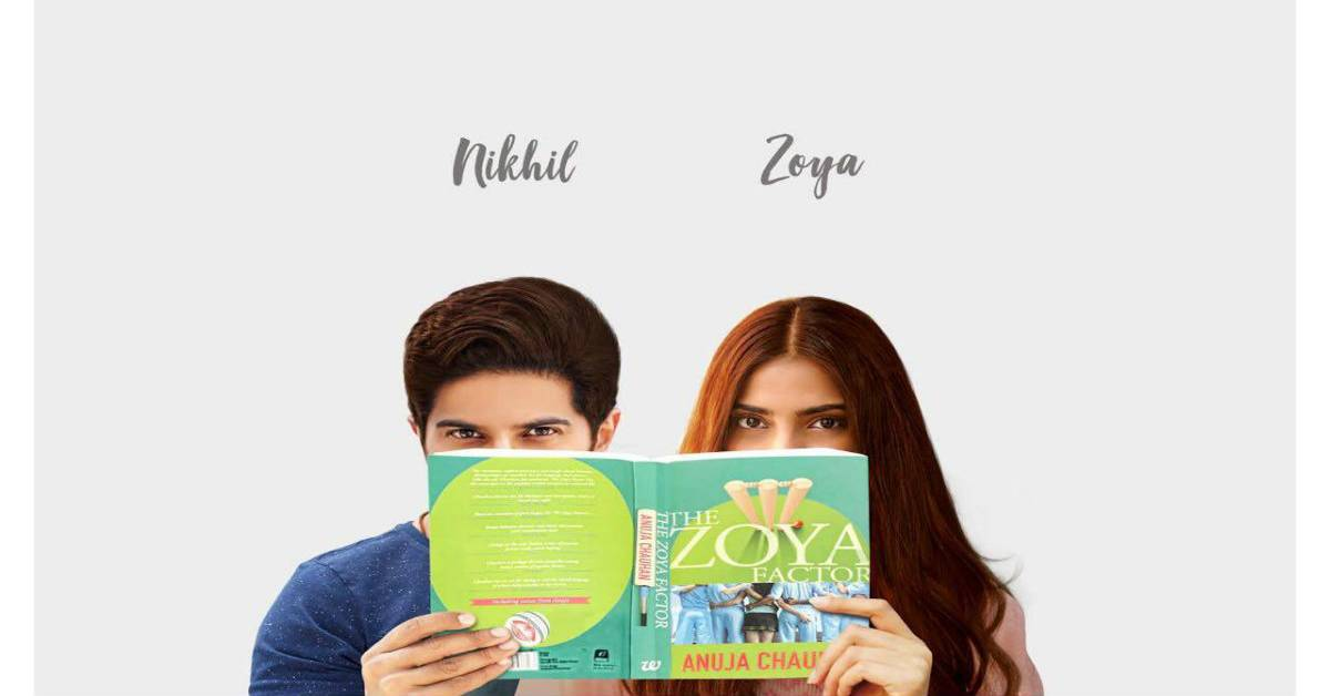 Sonam Kapoor To Star Opposite Dulquer Salmaan In The Film Adaptation Of Anuja Chauhan's The Zoya Factor!