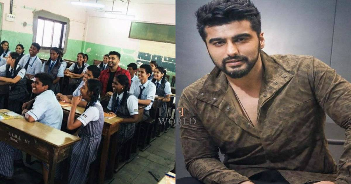 Arjun Kapoor Supports Girls' Education; Shoots Promotional Videos For Girl Rising India's Upcoming Campaigns!