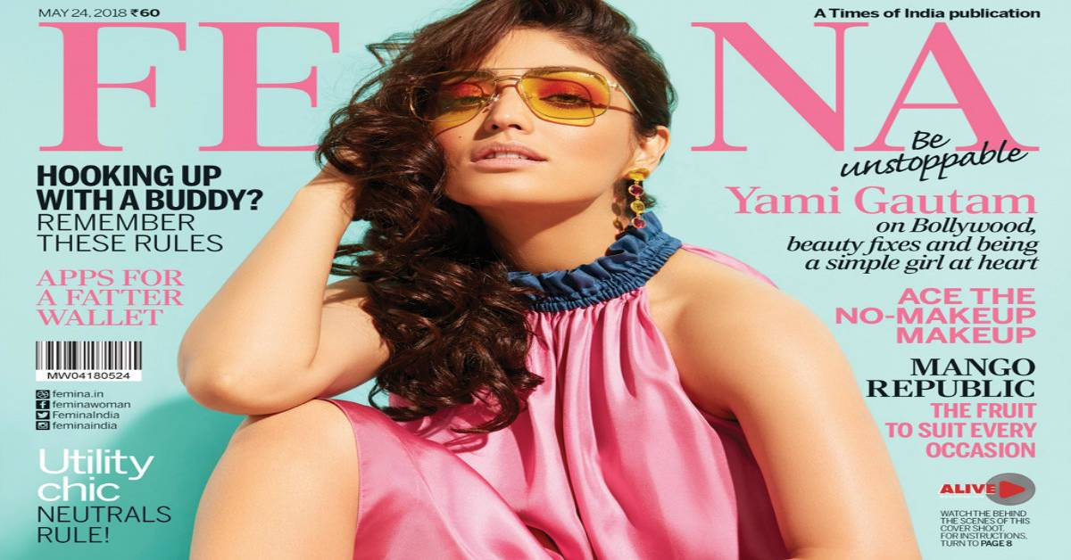 Yami Gautam Graces The Latest Cover Of Femina!