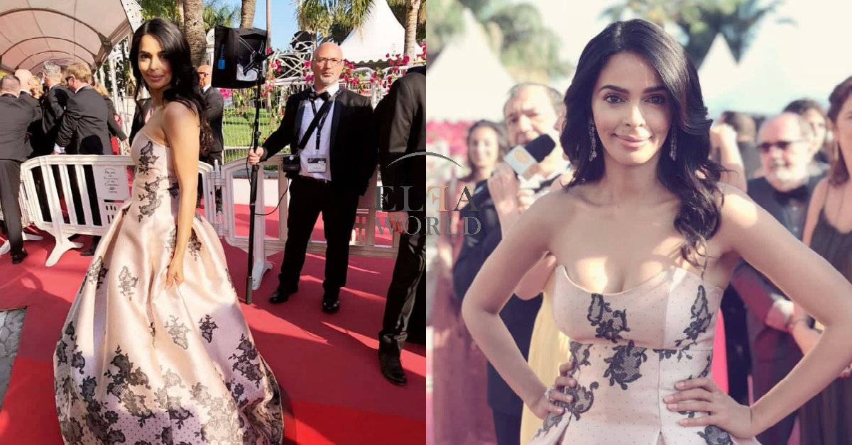 Mallika Sherawat Makes A Stunning Appearance On The Fifth Day Of Cannes Film Festival 2018!