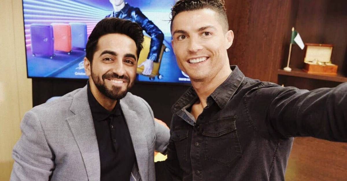 Ronaldo And Ayushmann Jam Over Football!