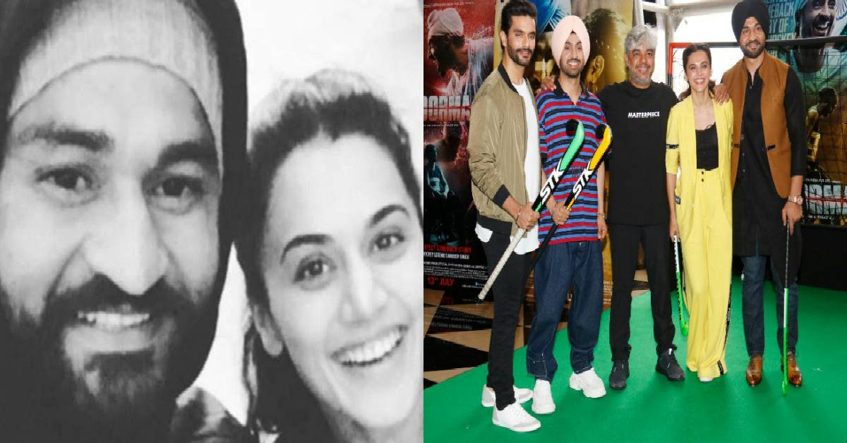 Taapsee Pannu Shared A Glimpse From Soorma's Sets!