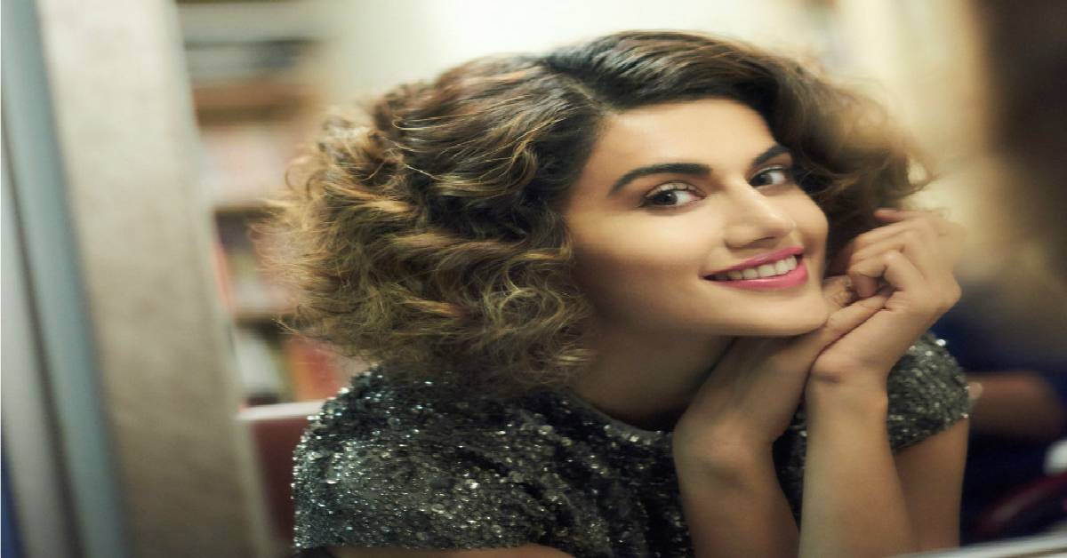 Taapsee Pannu Reading A Crime Novel For Business Or Pleasure?