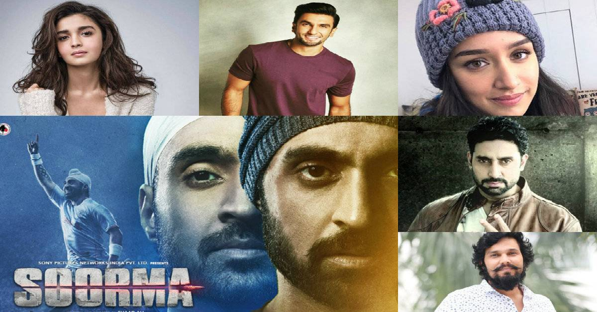 B-Town Gives A Thumbs Up To The Intriguing Trailer Of Soorma!
