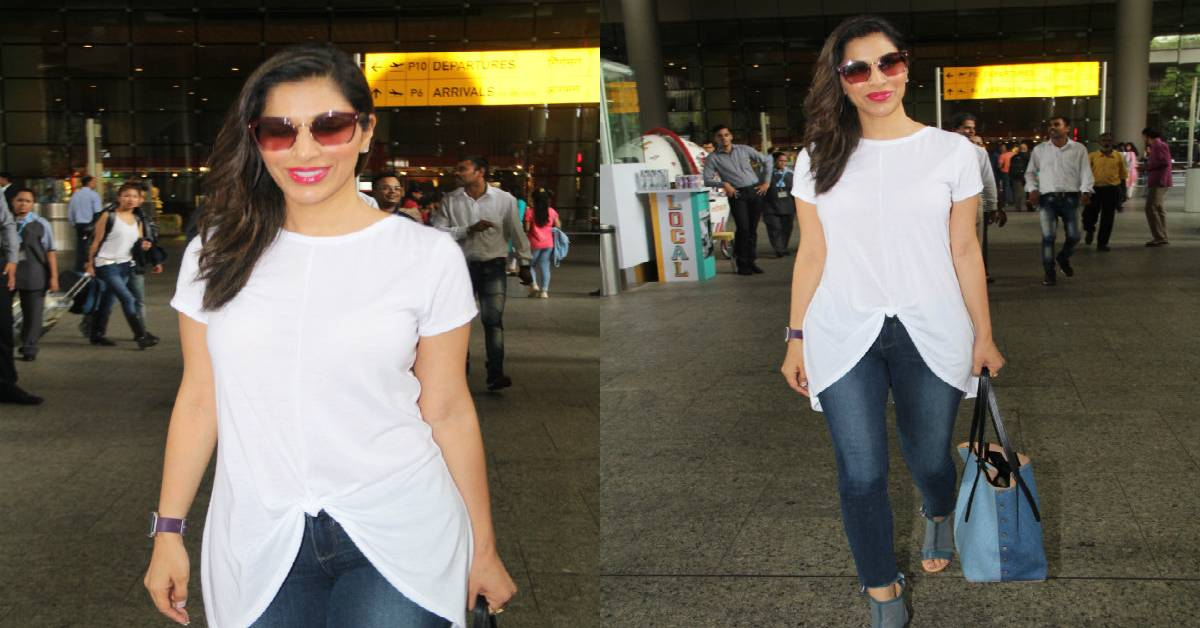 Spotted: Sophie Choudry At The Airport!