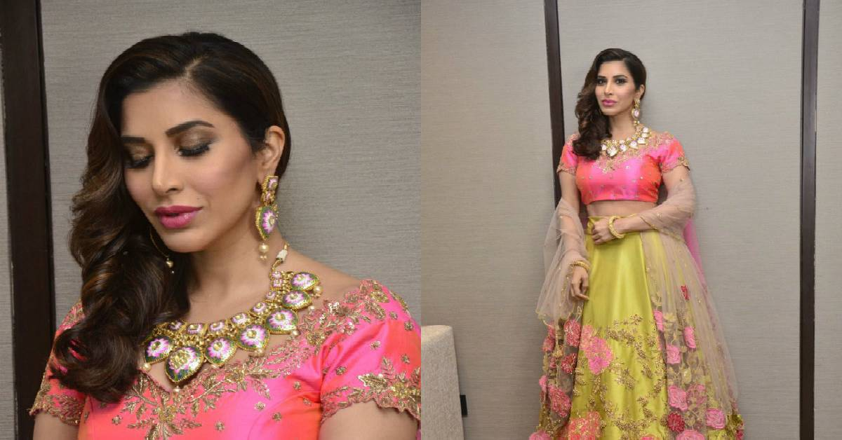 a31c00f4 Sophie Choudry Rocks The Ramp As Show Stopper For Designer Arvind Ampula At  Lakme!