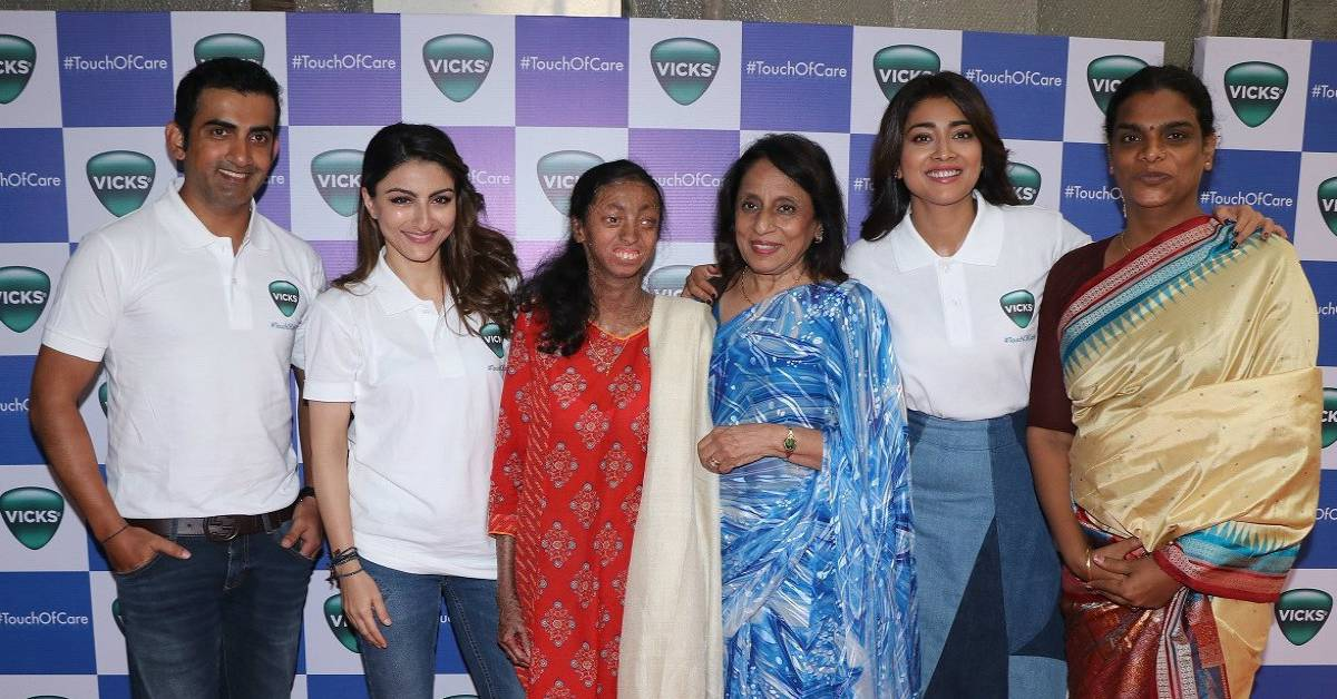 Soha Ali Khan, Shriya Saran And Gautam Gambhir Come In Support Of Vicks - One In A Million!