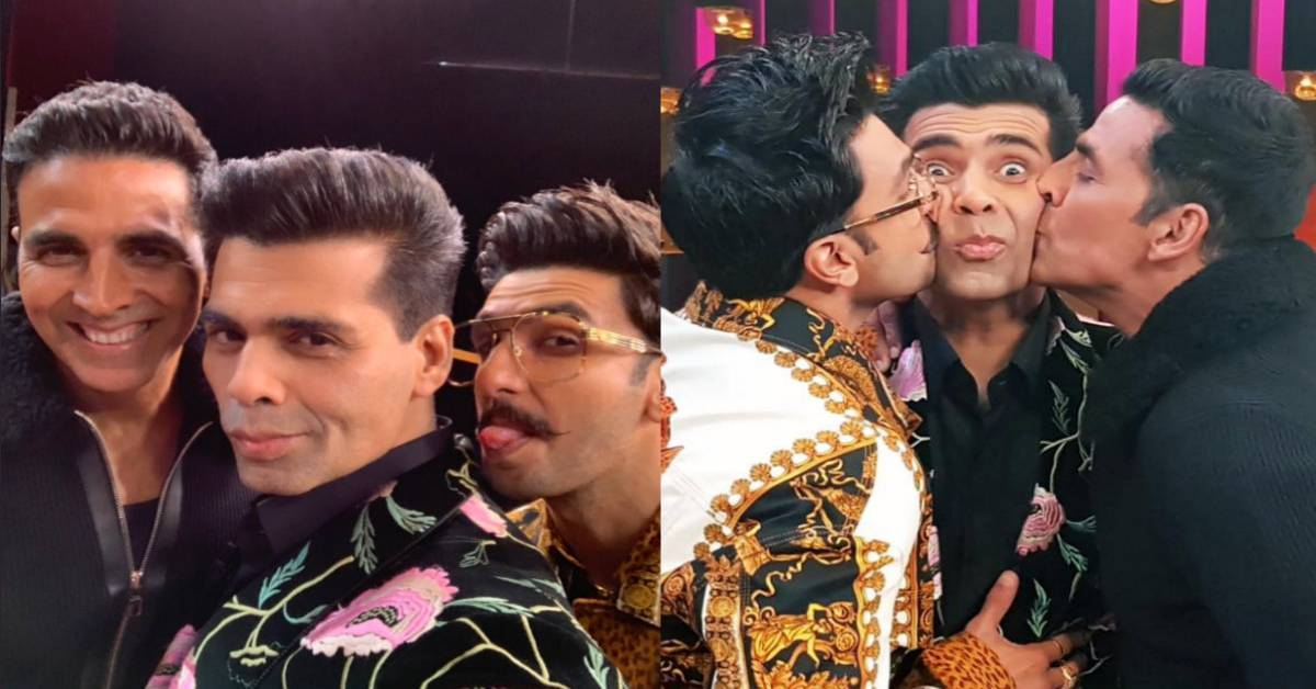 8fc30f7a1ff Koffee With Karan Season 6 Episode 2  Here Are Some Fun Confessions By  Akshay Kumar And Ranveer ...