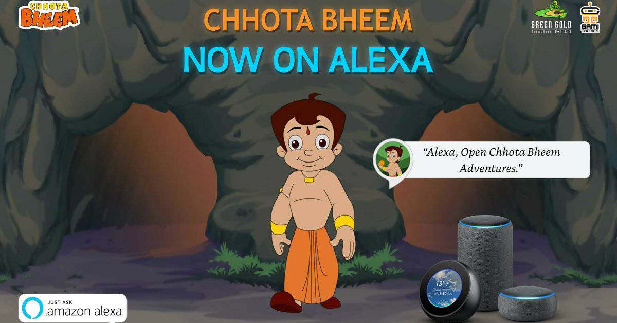 Set Off On An Adventure With Chhota Bheem On Amazon Echo Devices!