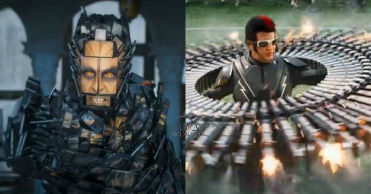 2.0 Trailer: Rajinikanth And Akshay Kumar Are All Set To Stun You With This Joyride Of A Journey With An Opulent VFX!