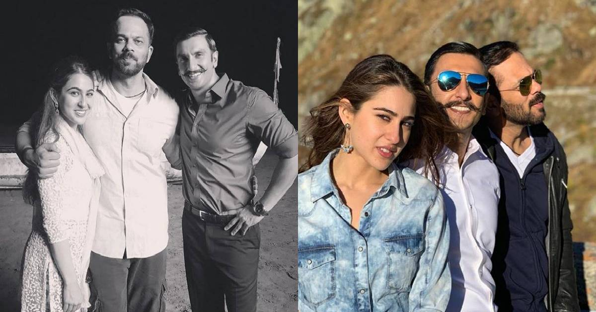 Sara Ali Khan Is All Thankful And Filled With Gratitude For Her Simmba Director Rohit Shetty!