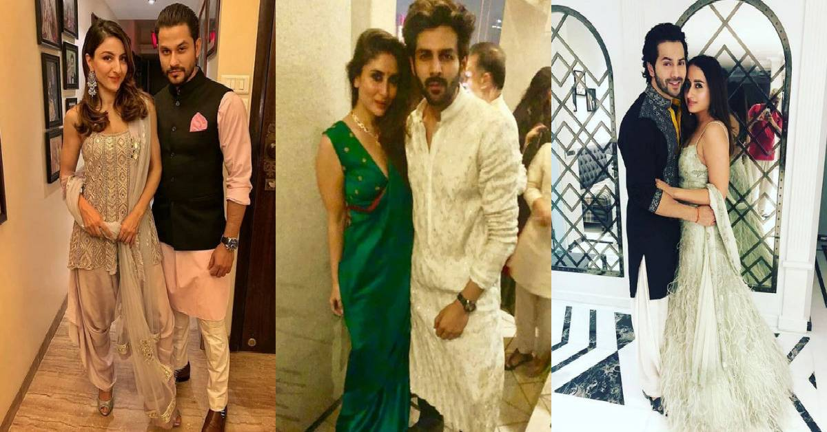 It Was A Plethora Of Celebs Under One Roof In Karan Johar's Diwali Bash!