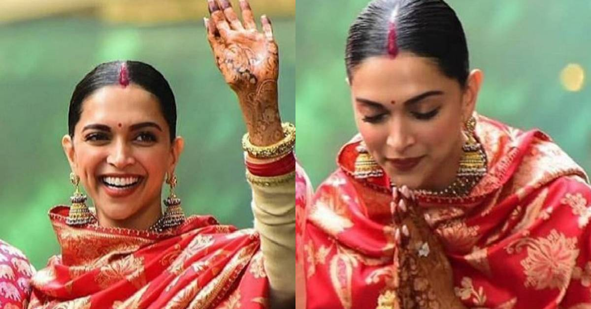 DeepVeer Wedding: We Cannot Move Our Eyes Of Deepika ...