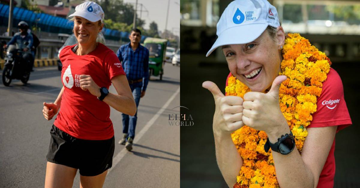 Colgate Proudly Welcomes Mina Guli To India As Part Of Her #RunningDry Journey And Reiterates Colgate's Commitment To Its Global Save Water Campaign!