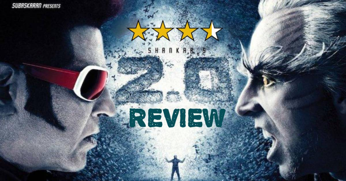 2 0 Movie Review: A Phenomenal Visual Delight With A Spell