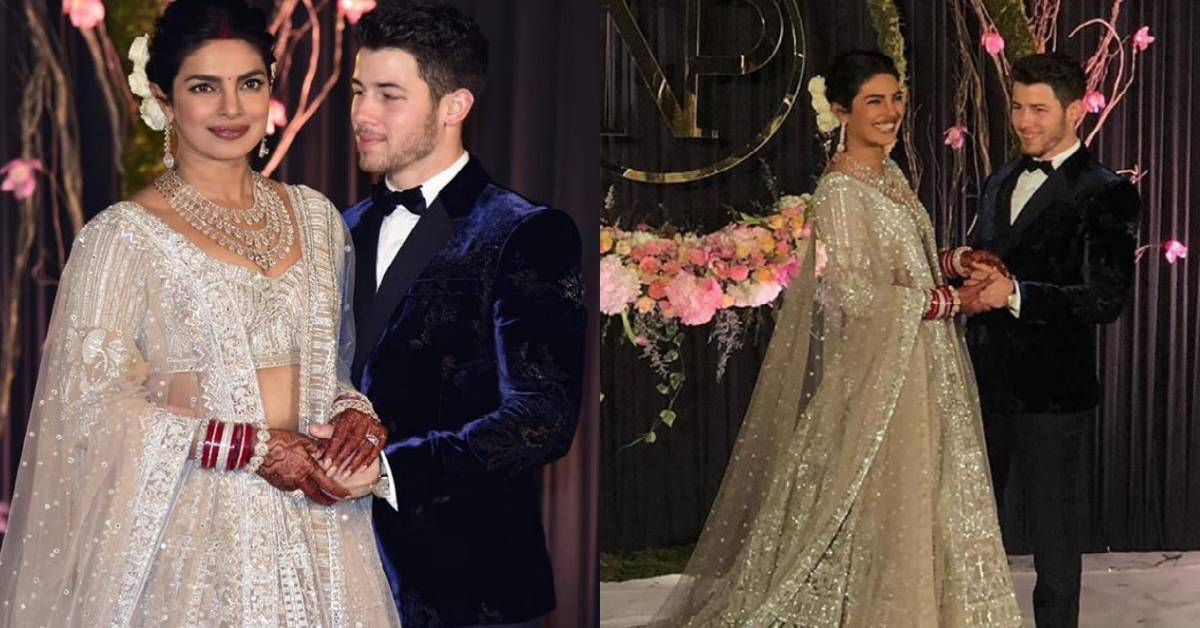 NickYanka Reception: Priyanka Chopra And Nick Jonas Make Way For A Regal Couple On Their Reception!