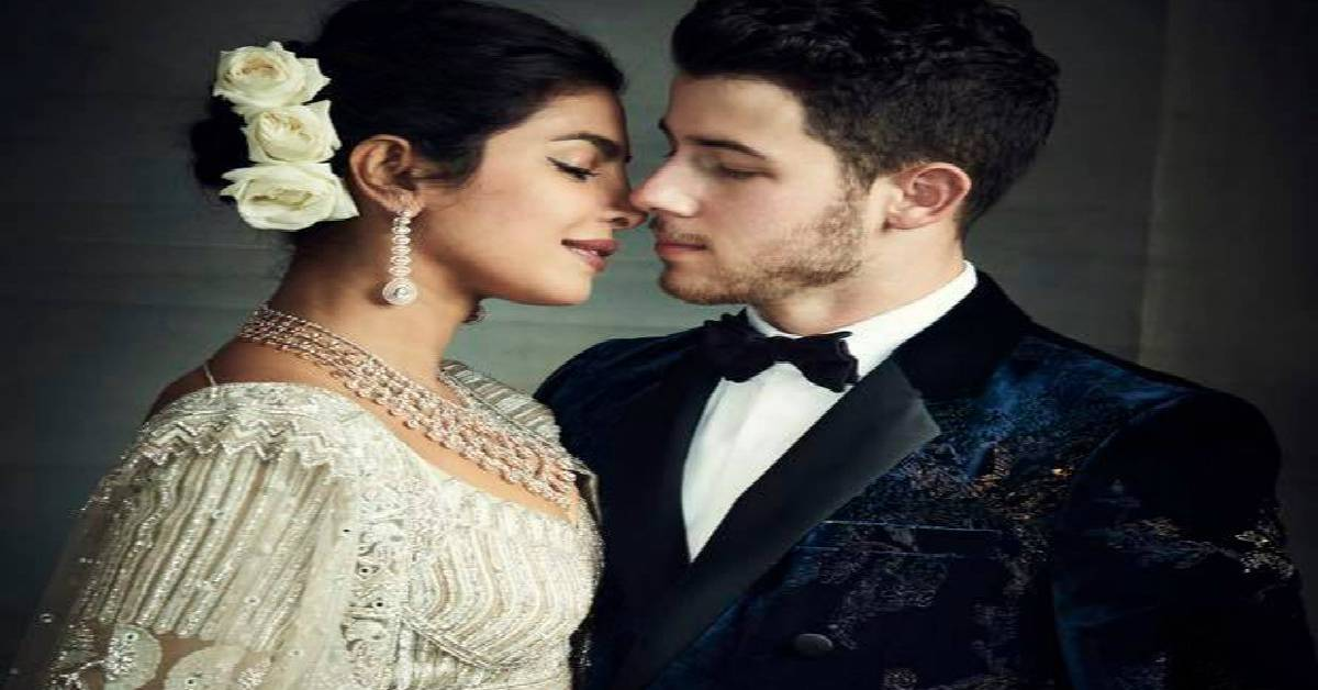 Priyanka Chopra And Nick Jonas Look Totally Smitten With Each Other In Their Latest Reception Pictures!