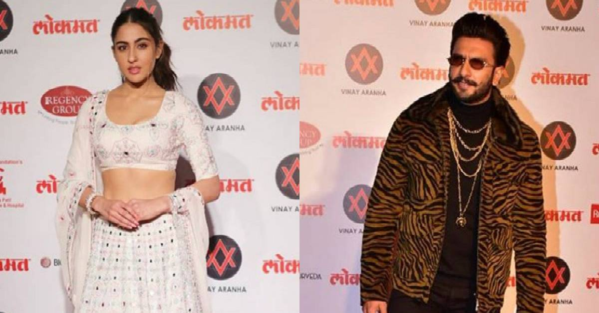 Lokmat Most Stylish Awards: The Simmba Pair Ranveer Singh And Sara Ali Khan Stun At The Red Carpet!