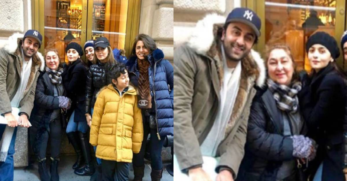 Alia Bhatt Spends Time With Boyfriend Ranbir Kapoor And His Family In New York!