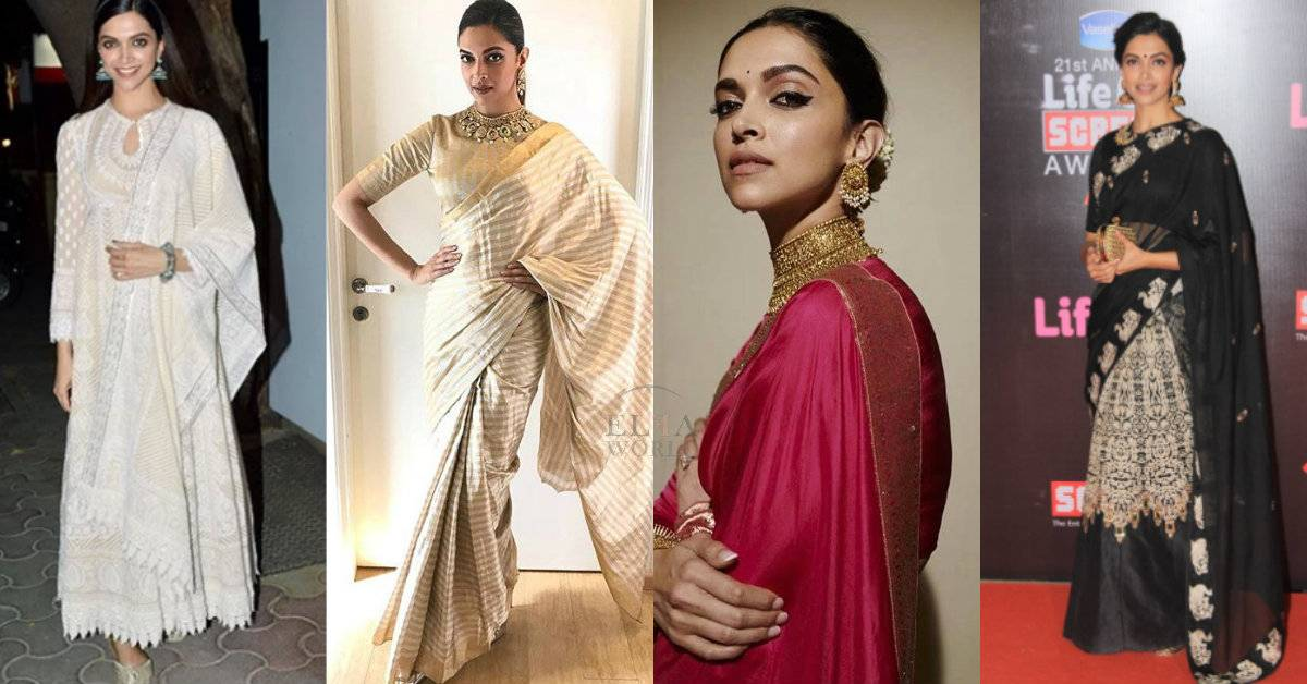 Happy Birthday Deepika Padukone: Here Are Proofs When Deepika Padukone Was The Ultimate Beauty Queen In These Traditional Attires!