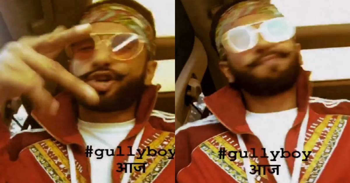 Ranveer Singh Shows His Excitement For The Trailer By Breaking Into A Rap!