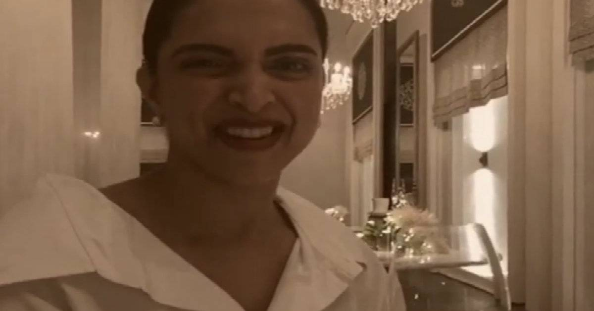 Deepika Padukone Promoting Hubby Ranveer Singh's Film Simmba In The Most Adorable Way Is The Best Thing You Will See On The Internet Today!