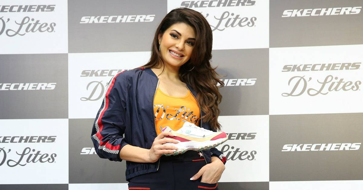 "Skechers India launches ""Skechers D'Lites"" With Jacqueline Fernandez!"