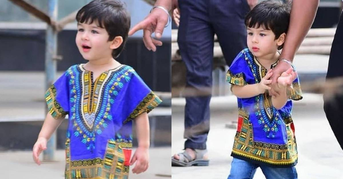 Taimur Ali Khan Is Resembling An Adorable Blueberry Cupcake In These Latest Pictures Which Will Surely Brighten Up Your Dull Wednesday!