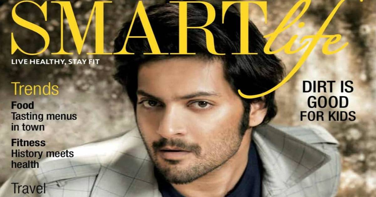 Ali Fazal Looks Strikingly Dapper On The Cover Of The Week Smart Life!
