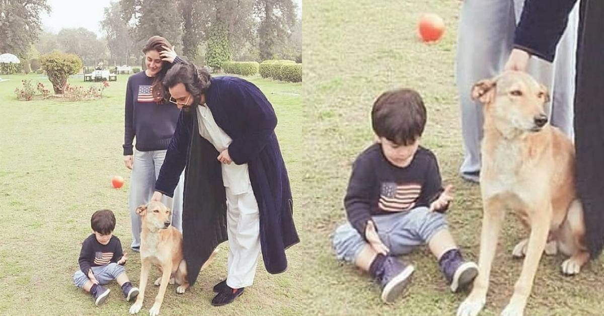 Kareena Kapoor Khan Is The Most Adorable Mommy Ever As She Twins With Her Son Taimur Ali Khan In This Latest Picture!