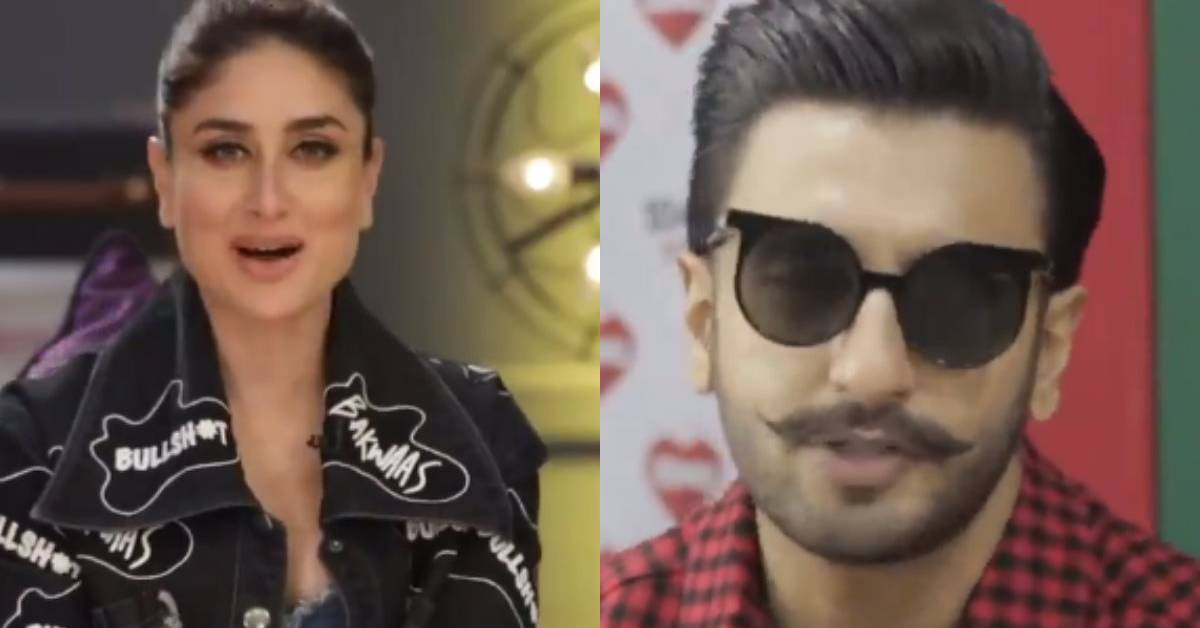 This Is What Kareena Kapoor Khan Had To Say To Ranveer Singh On How To Be A 'Top Husband' To Deepika Padukone!