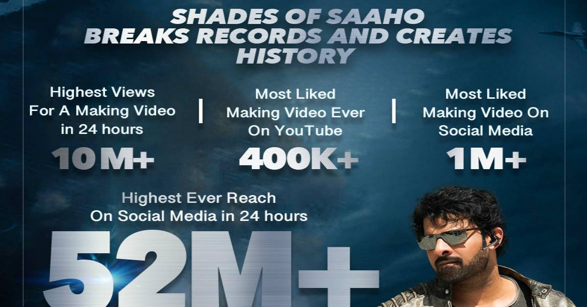 Shades Of Saaho Chapter 2 Records Highest Viewership!