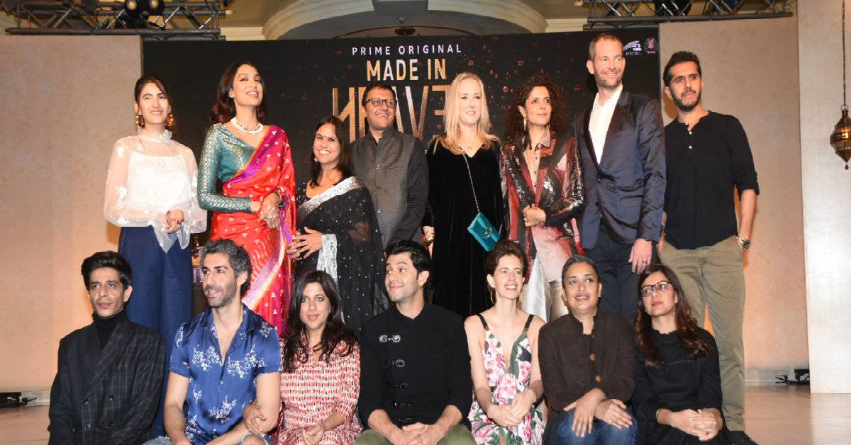 Makers And The Entire Cast Of Made In Heaven Graced The Press Conference Event!