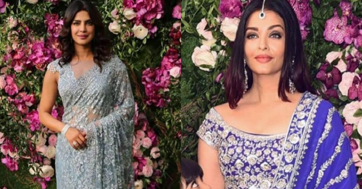 Iswarya Rai Wedding.Akash Ambani And Shloka Mehta Wedding Priyanka Chopra Jonas And
