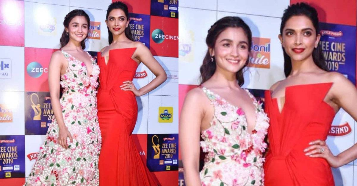 Zee Cine Awards 2019: Alia Bhatt And Deepika Padukone Make Way For The Most Stunning Posers At The Red Carpet!