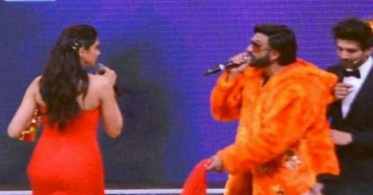 This Adorable Video Of Deepika Padukone And Ranveer Singh Taking Their Pheras Again At The Zee Cine Awards Is Too Cute To Miss!