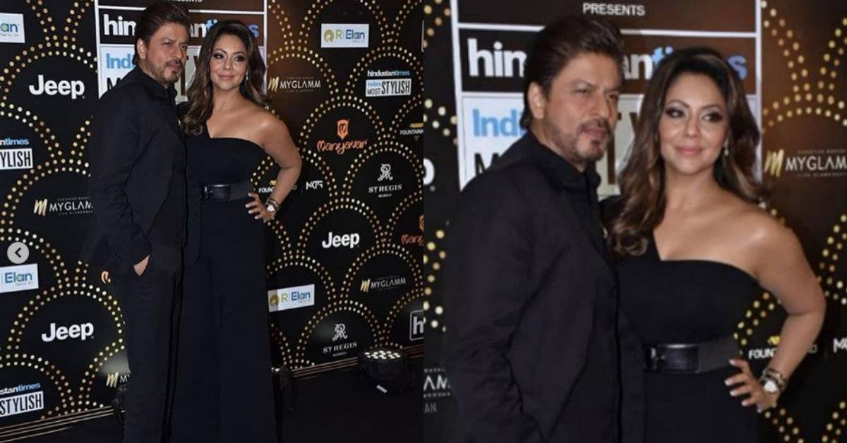 HT Style Awards 2019: Shah Rukh Khan And Gauri Khan Are One Power Couple At The Red Carpet!